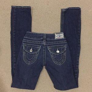 True Religion straight jeans size 25